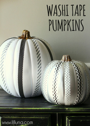 Different ways to decorate with pumpkins for Halloween