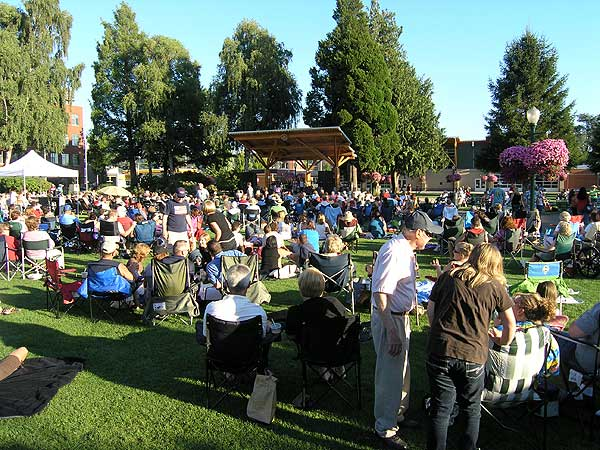 City Of Puyallup Concerts In The Park