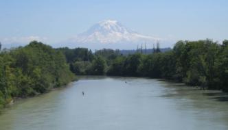 Fishing in Puyallup, Washington