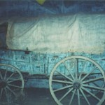 Ezra Meeker Wagon Display
