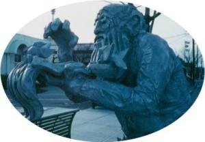 Ezra Meeker Statue