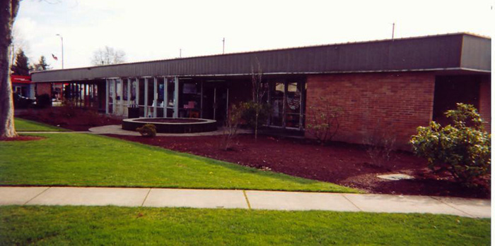 Old Puyallup Library 2002