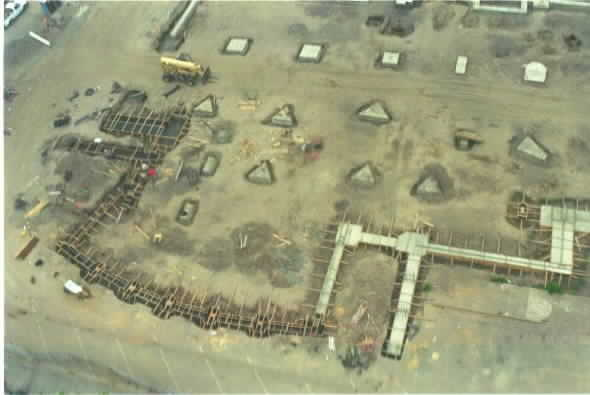 Puyallup Library construction 2002