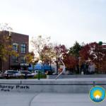 Kiwanis Kids Spray Park Pioneer Park in Puyallup 10/5/2015