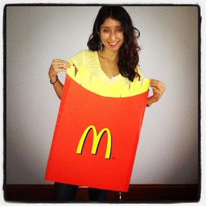 McDonald's French Fries Halloween Costume