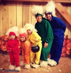 Rainbow Family Costume Puyallup