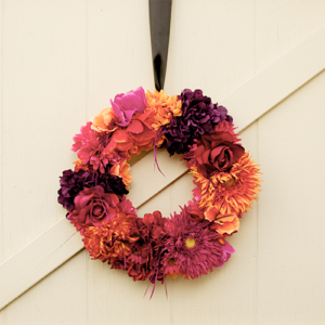 thanksgiving fall wreath