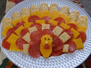 turkey cheese tray
