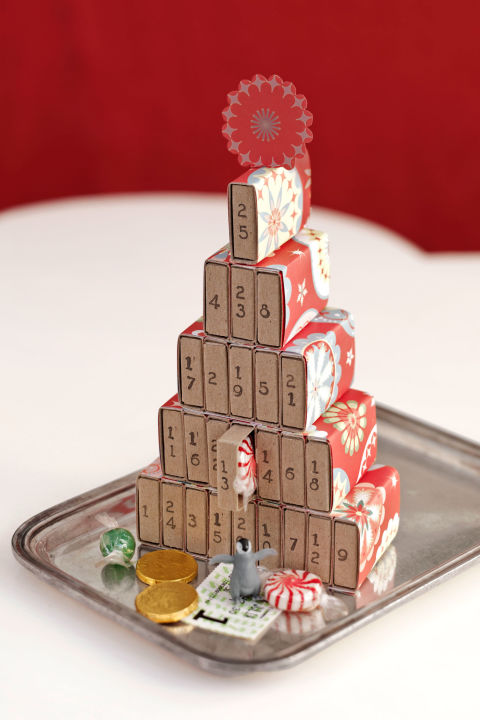 match box advent calendar