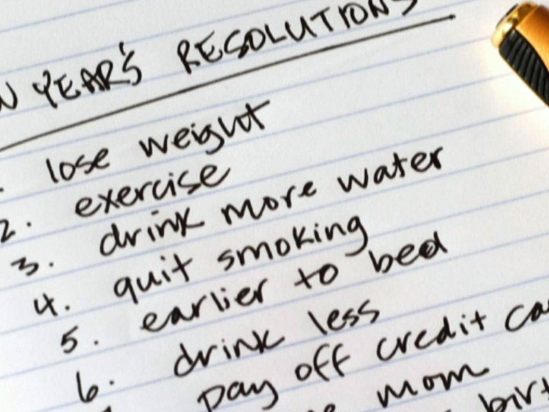 Getting Those New Year's Resolutions Back on Track